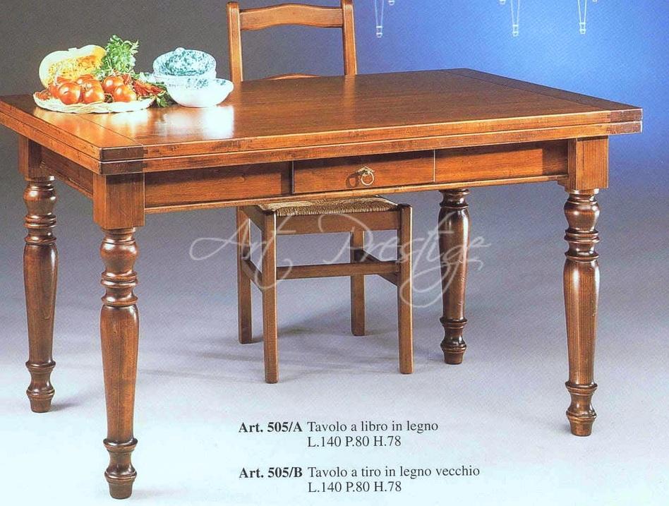 Tavolo a libro in legno vecchio art prestige luxury furniture - Tavoli in legno vecchio ...