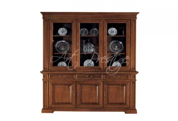 Credenza Con Cristalliera : Art g credenza con cristalliera prestige u luxury furniture