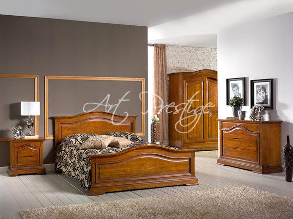 Camera Da Letto Matrimoniale In Noce.Art 497 A Camera Da Letto Finitura Noce Art Prestige Luxury