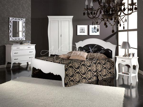 Camera Da Letto Bianco Laccato : Art a camera da letto laccata bianco art prestige u luxury