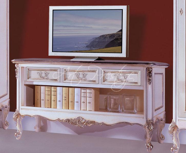 Art h737 porta tv stile provenzale art prestige luxury furniture - Porta asciugamani stile provenzale ...