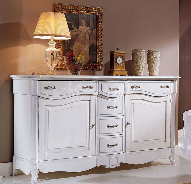Credenza provenzale laccata art prestige luxury furniture - Mobili stile provenzale ...