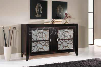 Credenza Con Vetro Moderna : Art p credenza moderna con vetri prestige u luxury furniture
