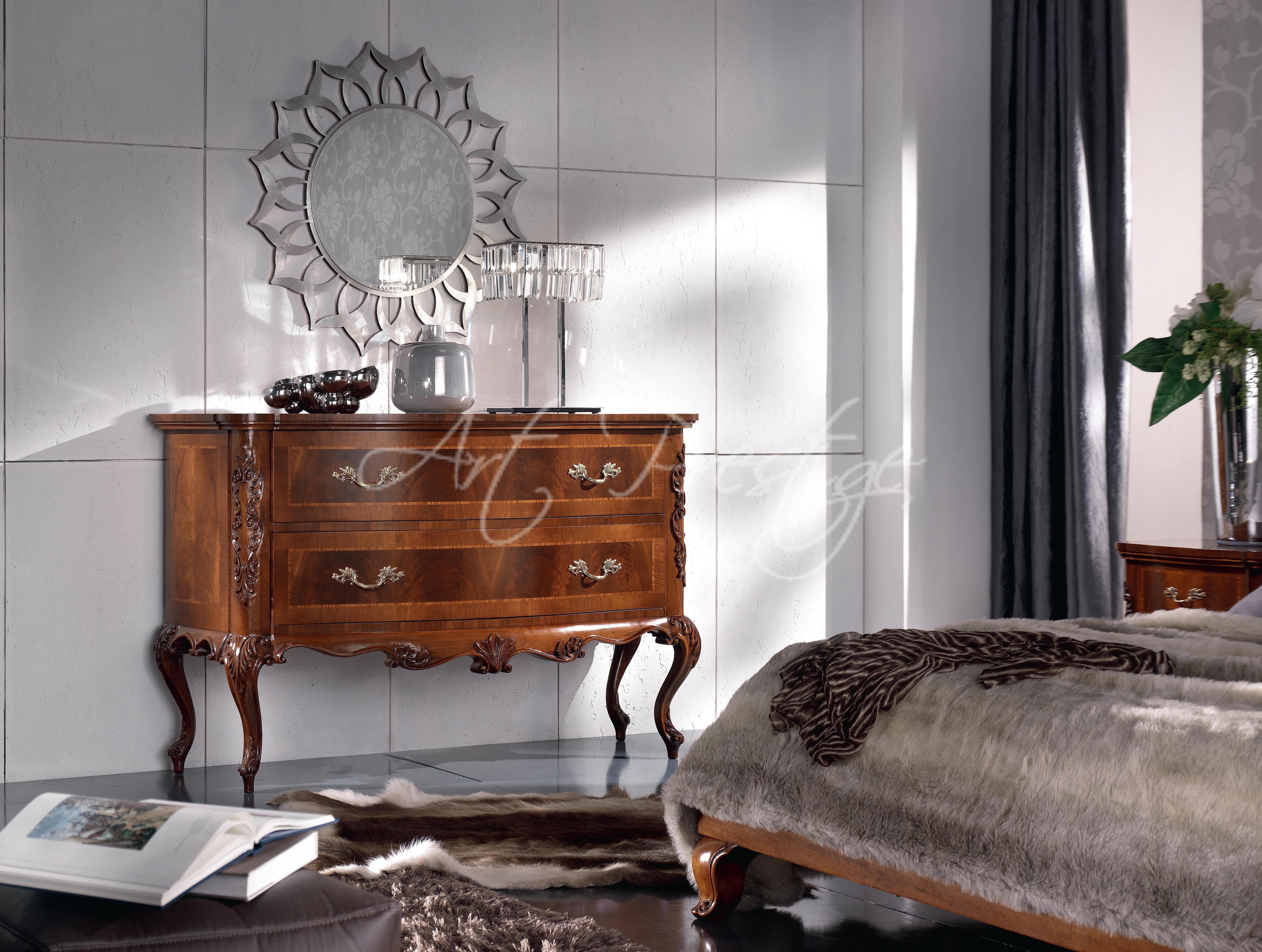 Art 62 Camera Da Letto In Piuma Di Noce Art Prestige Luxury Furniture