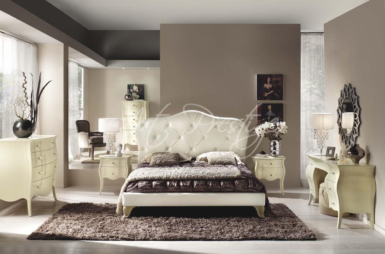 Camera da letto testata capitonn art prestige luxury furniture - Testata letto capitonne ...