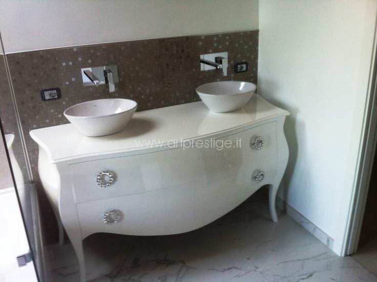 Mobile bagno doppio lavello art prestige luxury furniture - Mobile bagno doppio lavello ...
