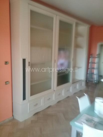 Libreria Con Ante Di Vetro.Libreria Con Ante Scorrevoli Art Prestige Luxury Furniture