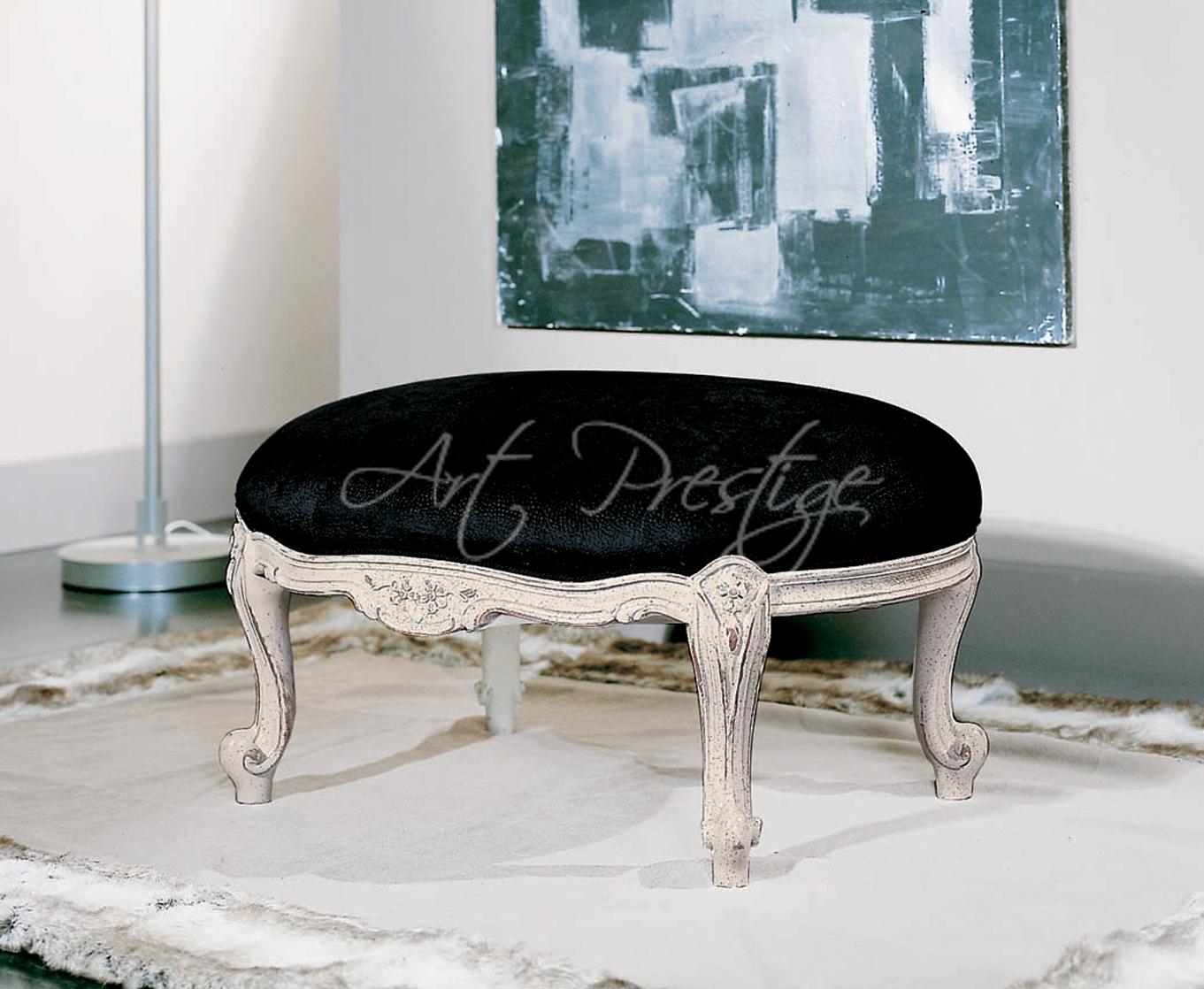 Art s sgabello greta velluto nero art prestige u luxury