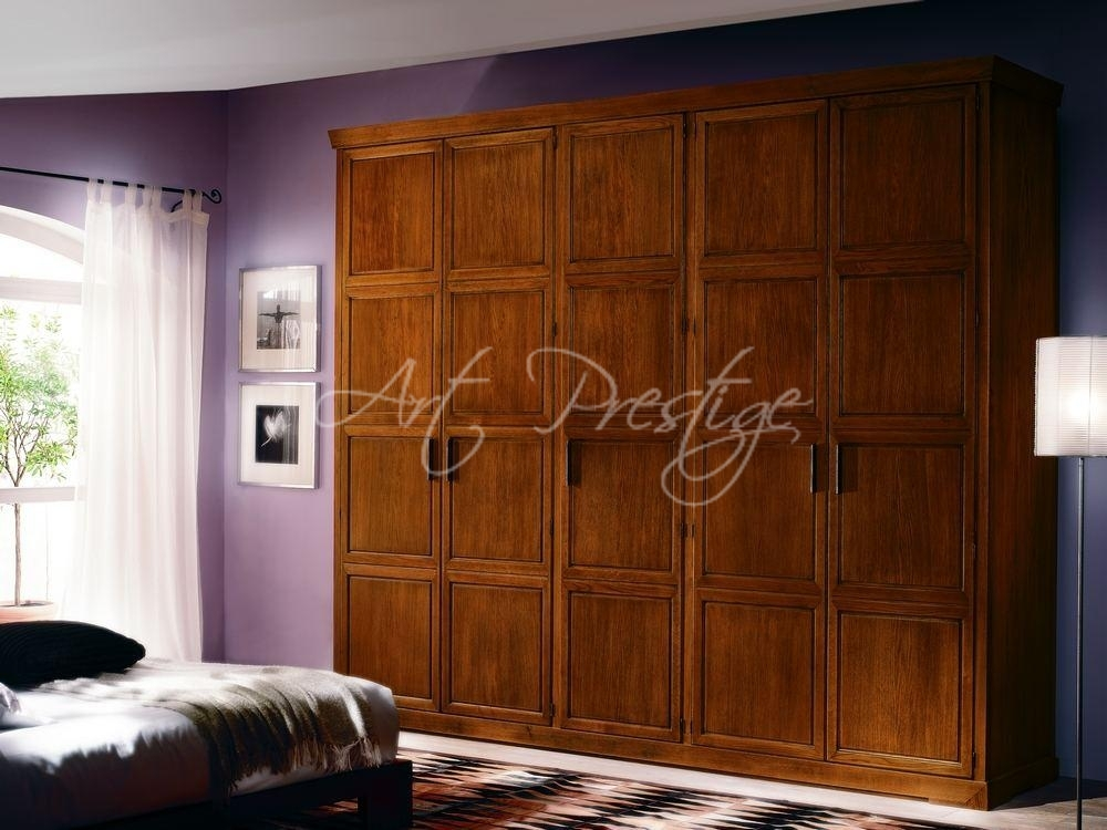 Armadio A Cinque Ante.Art Ec030 Armadio Cinque Ante Battenti Art Prestige Luxury Furniture
