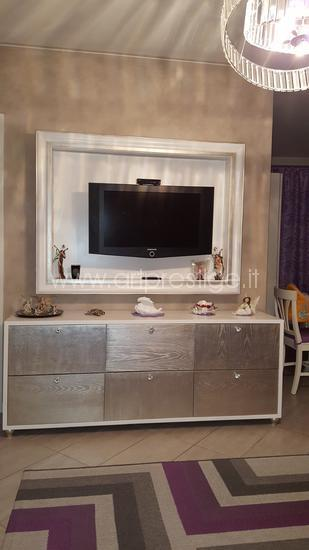 Credenza Con Porta Tv.Credenza E Cornice Porta Tv Art Prestige Luxury Furniture