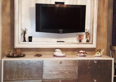 Credenza e Cornice Porta Tv